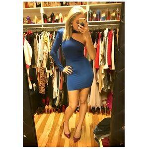 Bebe One Shoulder Mini Dress!